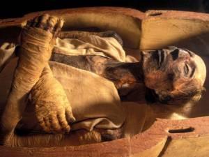 мумия без бинтов